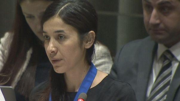 Una joven yazidí víctima del Dáesh nombrada embajadora de buena voluntad de la ONU