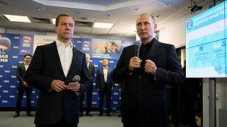 Russie : le parti du pouvoir donné gagnant des législatives