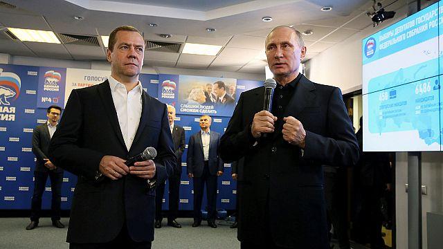 Rusya'daki Duma seçimini Vladimir Putin'in partisi kazandı