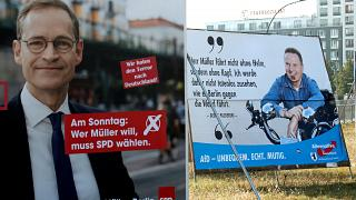 Voters punish Angela Merkel's open-door refugee policy in Berlin poll