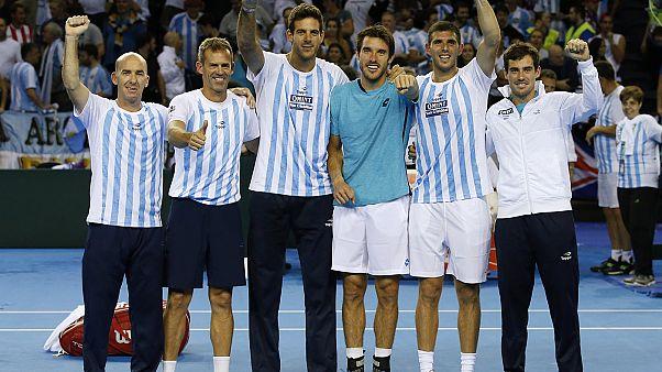 راهیابی آرژانتین و کرواسی به فینال رقابت های تنیس جام دیویس