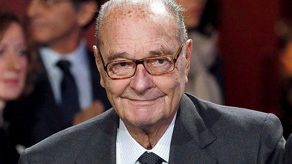 Akciğer enfeksiyonu geçiren Jacques Chirac hastaneye kaldırıldı