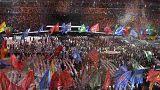 Cérémonie de clôture des Jeux paralympiques à Rio