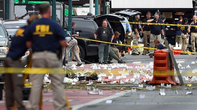 New York'ta patlama sonrası hayat normale döndü
