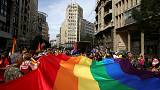Belgrade hosts gay pride march under heavy police presence