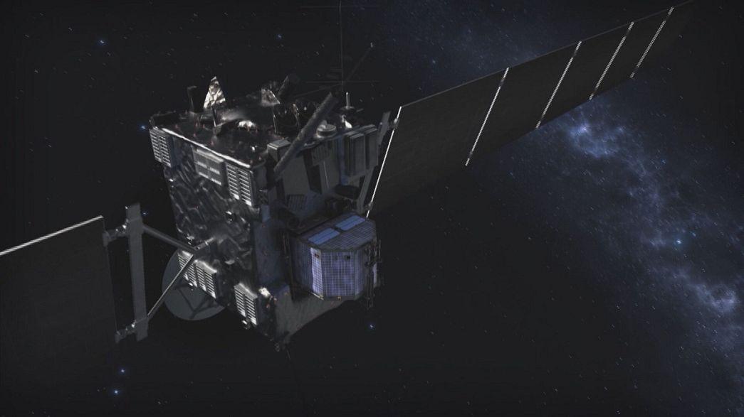 Rosetta heads for glorious crash-landing