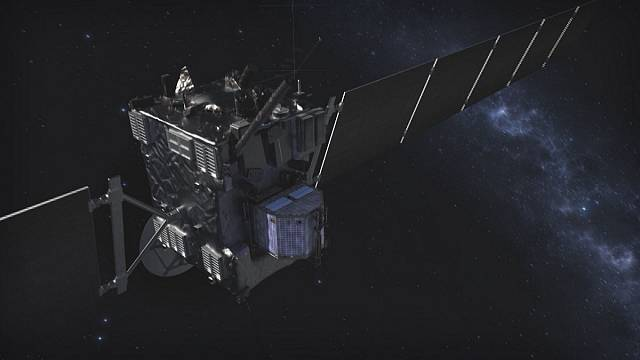 Rosetta, Philae Kuyruklu Yıldızı'na çarparak görevini tamamlıyor