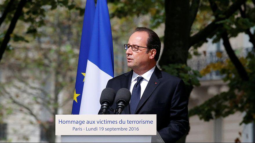 Hollande anuncia una reforma en la indemnización a las víctimas al terrorismo
