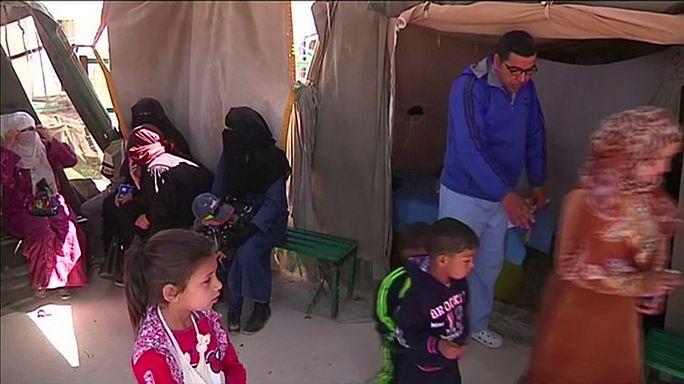 Лагеря сирийских беженцев: ни работы, ни надежд