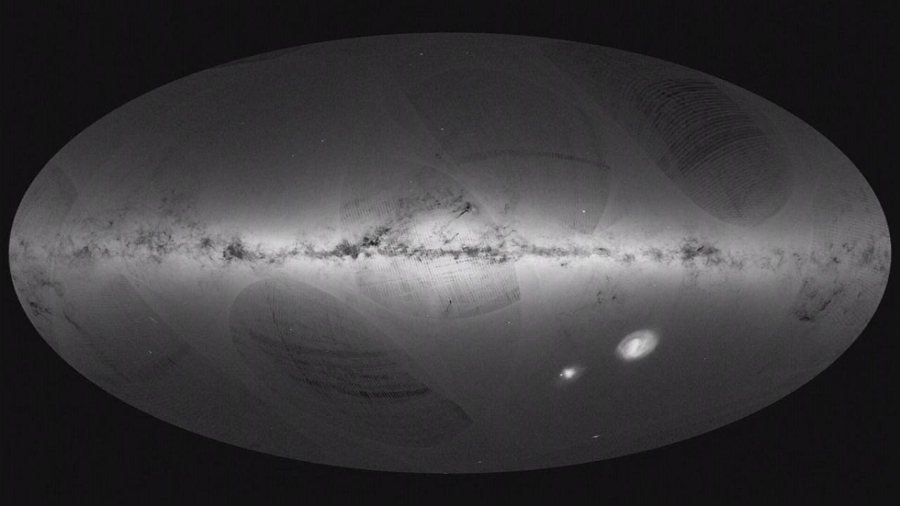 One-billion star map of the Milky Way