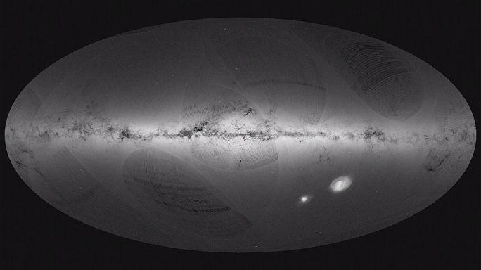 Gaia uydusu Samanyolu'nun 3 boyutlu haritasını çıkarıyor