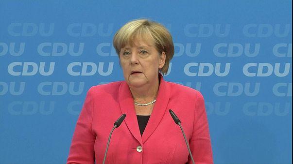 Angela Merkel acepta la derrota de su partido en Berlín