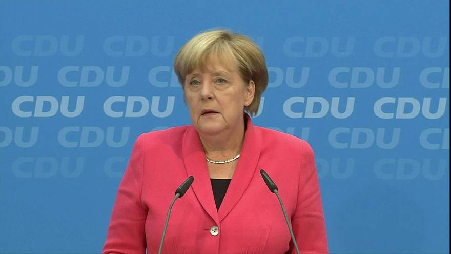 Merkel gesteht nach neuer CDU-Wahlniederlage Fehler in Flüchtlingspolitik ein