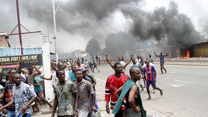 Al menos 17 muertos en protestas contra el presidente de la República Democrática del Congo
