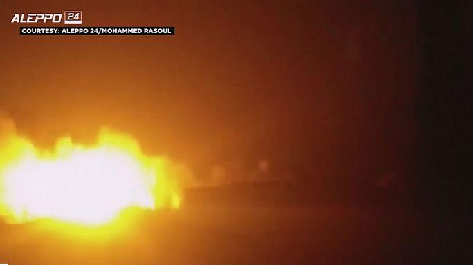 Сирия: под Алеппо обстрелян конвой ООН