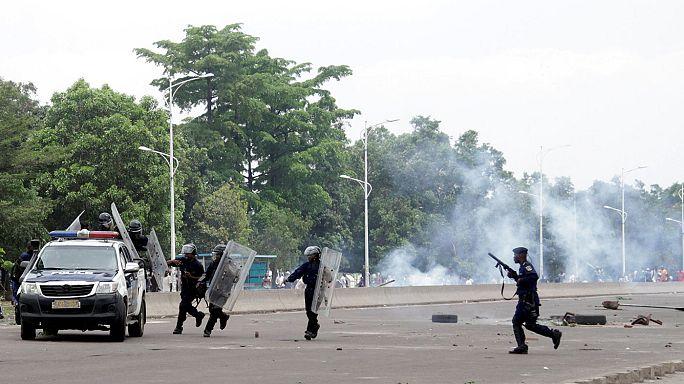 Sokan meghaltak a tömegtüntetésen Kinshasában