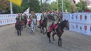 Конный фестиваль в Будапеште