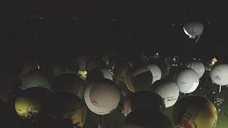 Almanya :Dünyanın en eski uçan balon yarışması
