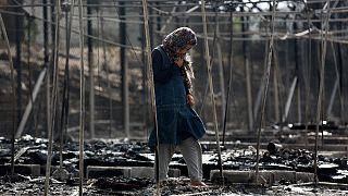 Λέσβος: «Κάρβουνο» το 60% του καταυλισμού στη Μόρια