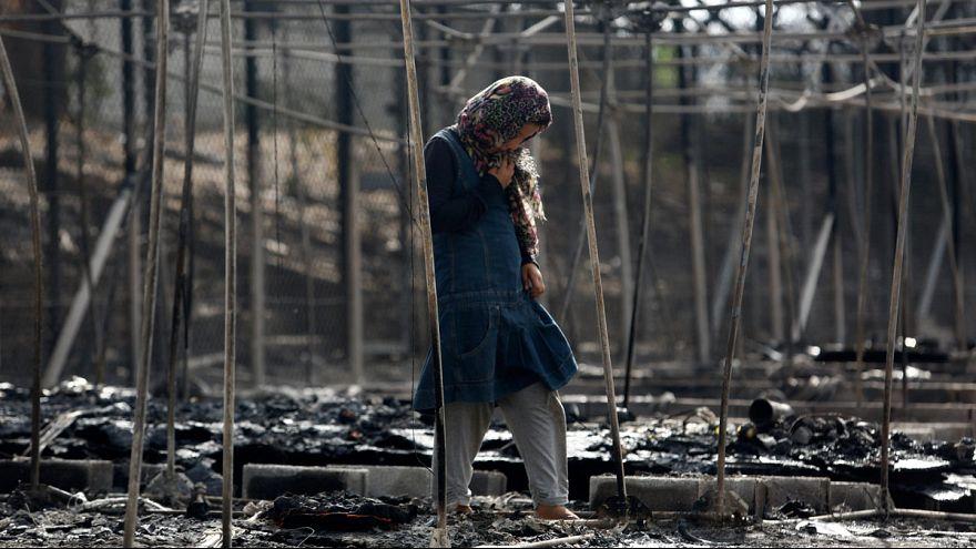 Nach Brand in griechischem Flüchtlingslager: 18 Verdächtige festgenommen