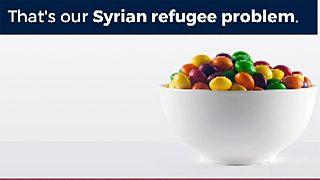 في تغريدة ترامب الابن يشبه اللاجئين السوريين بالحلوى المسمومة