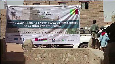 Mali: la porte d'une mosquée vandalisée a été restaurée
