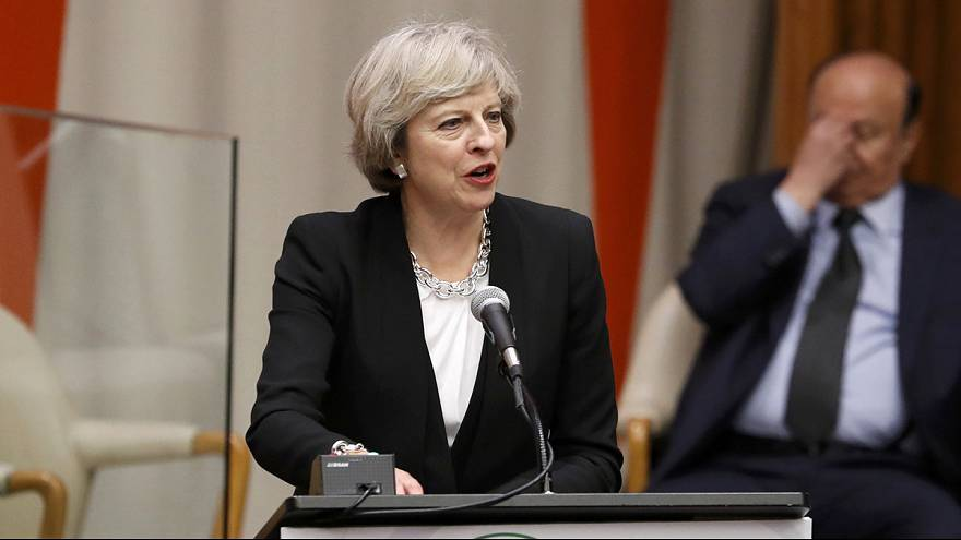 British PM reassures US businesses over Brexit