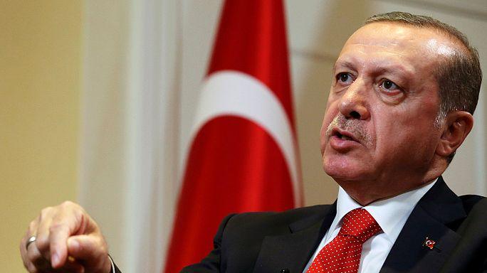Erdoğan Amerikában is Gülen kiadatását követelte