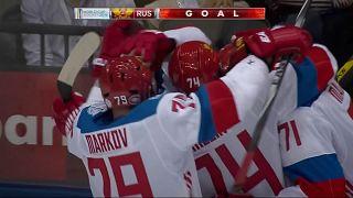 جام جهانی هاکی روی یخ؛ روسیه یک گام دیگر به فینال نزدیک شد