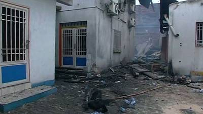 Opposition HQ torched in DR Congo