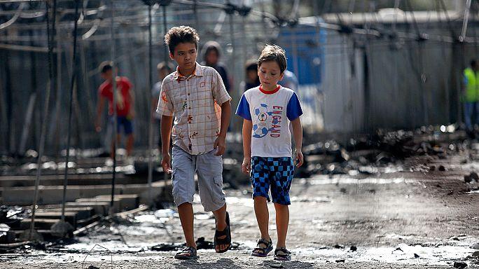 Yunanistan'ın çocuk sığınmacıları