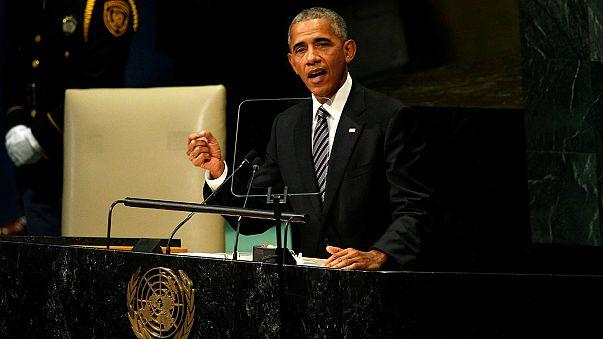 أوباما يدعو إلى المزيد من التعاون الدولي والتضامن لحل المشاكل والأزمات