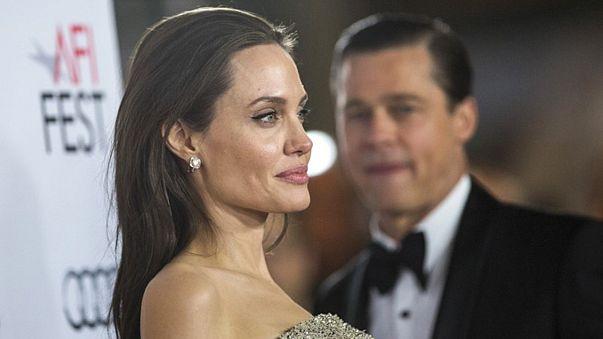 É oficial! Angelina Jolie pede o divórcio a Brad Pitt