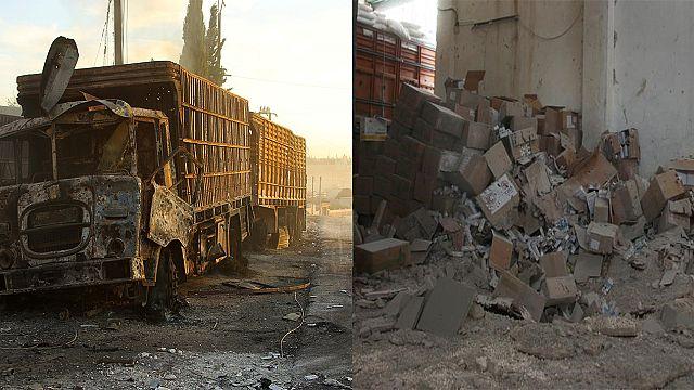 "ABD: ""BM konvoyunu Rus savaş uçakları vurdu"""