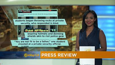Press Review of September 21, 2016 [The Morning Call]