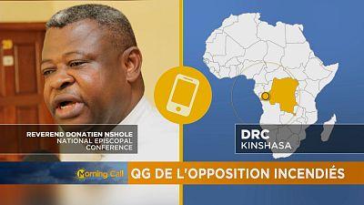 Des manifestants de l'opposition gazés par la police ce lundi — RDC