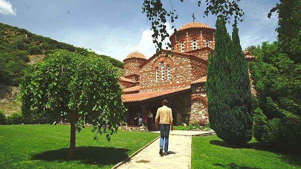Makedonya'da Vodocha Manastırı
