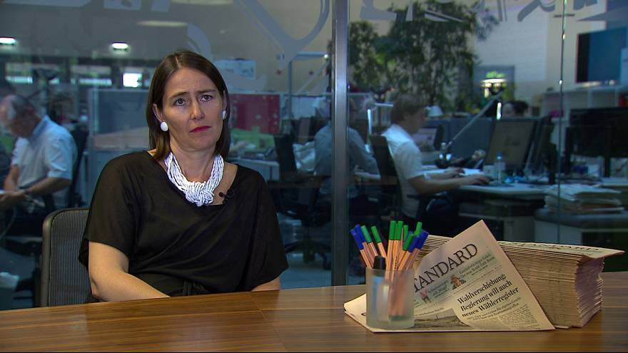 """Chefredakteurin des Standard: """"Es droht eine Gefährdung der Demokratie"""""""