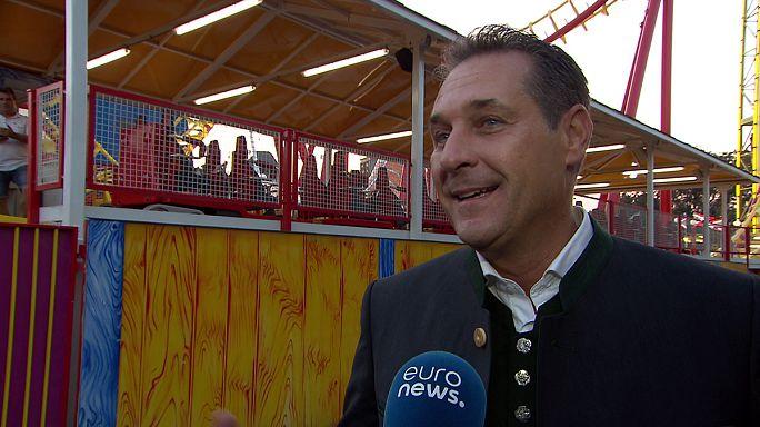 """HC Strache auf Öxit-Frage: """"Nein! Nein!"""""""