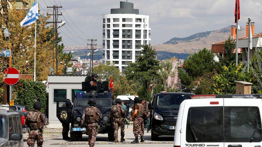 Напавший на посольство Израиля в Анкаре невменяем?