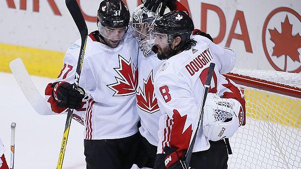 Jégkorong vk - Kanada kiejtette az amerikaiakat