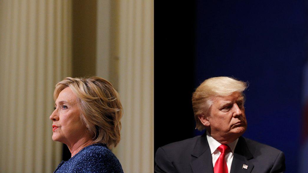 رقابت تنگاتنگ میان دو نامزد ریاست جمهوری آمریکا