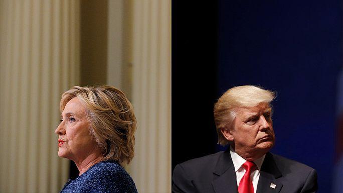 Présidentielle américaine : Clinton en tête des sondages avant le débat télévisé