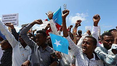 Différend frontalier : les Somaliens marchent contre le Kenya