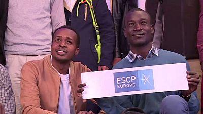 France : des réfugiés dans les grandes écoles parisiennes
