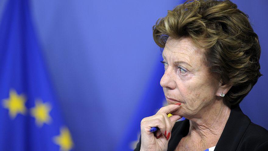 Former EU commissioner Neelie Kroes fails to declare directorship of offshore firm