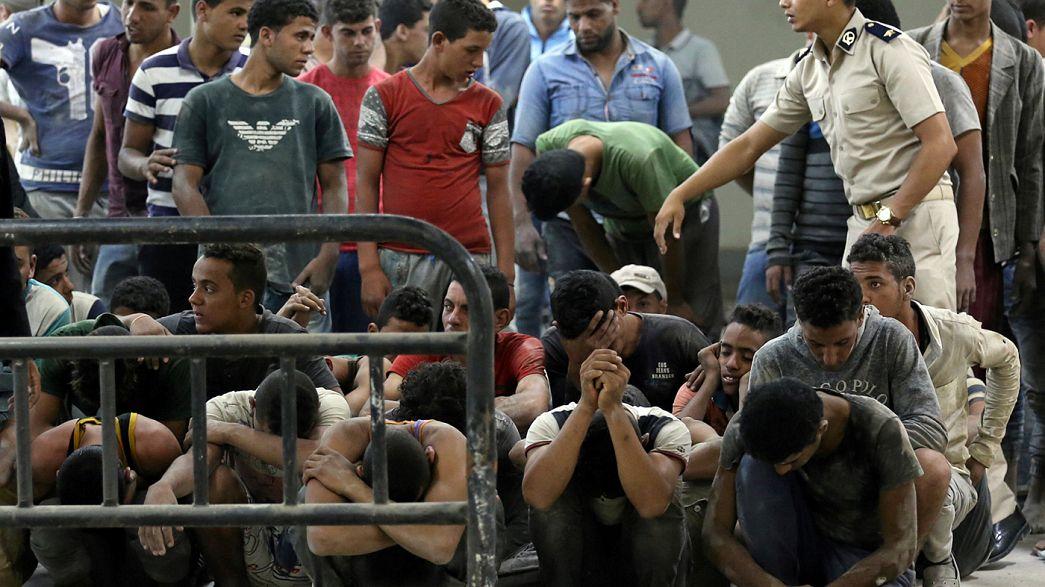Naufragio al largo dell'Egitto, morti decine di migranti