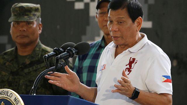 """Filipinler Devlet Başkanı Duterte:""""Avrupa binlerce Arap öldürdü"""""""
