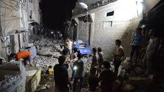 Iémen: Mais de 20 civis mortos em bombardeamentos