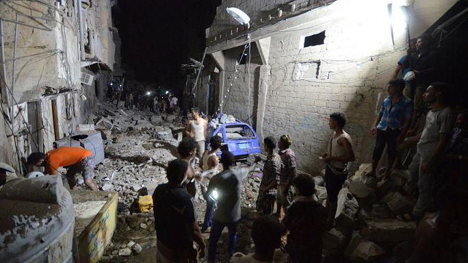 Бомбардировка аравийской коалиции в Йемене: десятки погибших